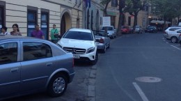 parcari ilegale strada avram iancu