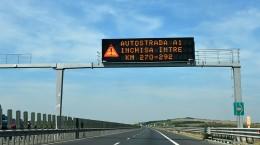 autostrada inchisa 16 septembrie