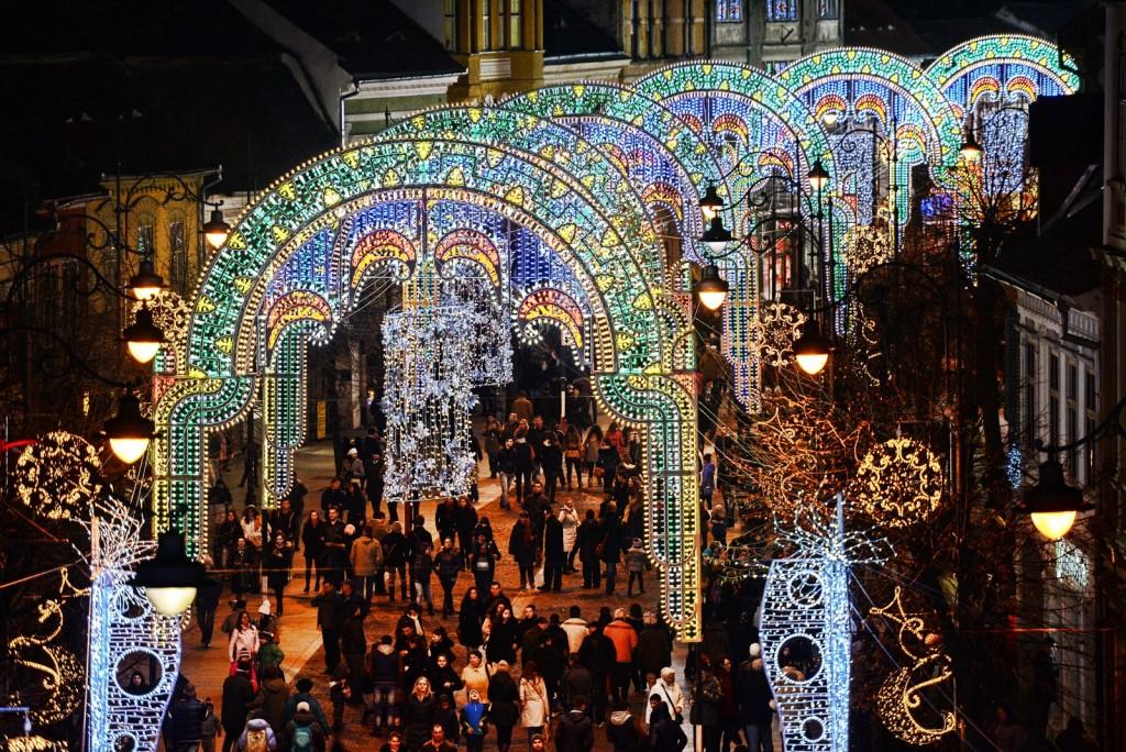Sibiu lights and more sarbatori craciun (1)