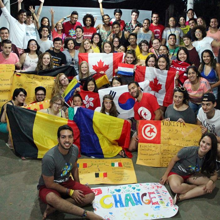 Voluntara tocmai in Brazilia