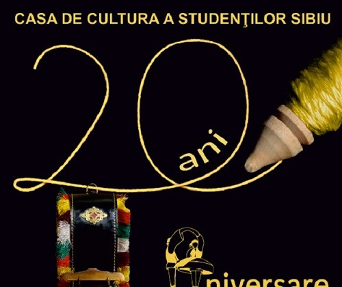 afis casa de cultura a studentilor