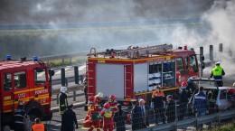 exercitiu accident autostrada, pompieri, incendiu, salvare smurd raniti (60) (Copy)