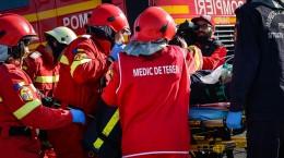 exercitiu accident autostrada, pompieri, incendiu, salvare smurd raniti (68) (Copy)