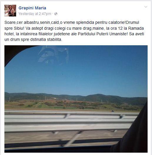 Maria Grapini facebook