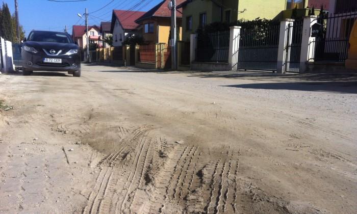 strada sacel asfaltare strada de pamant neasfaltata