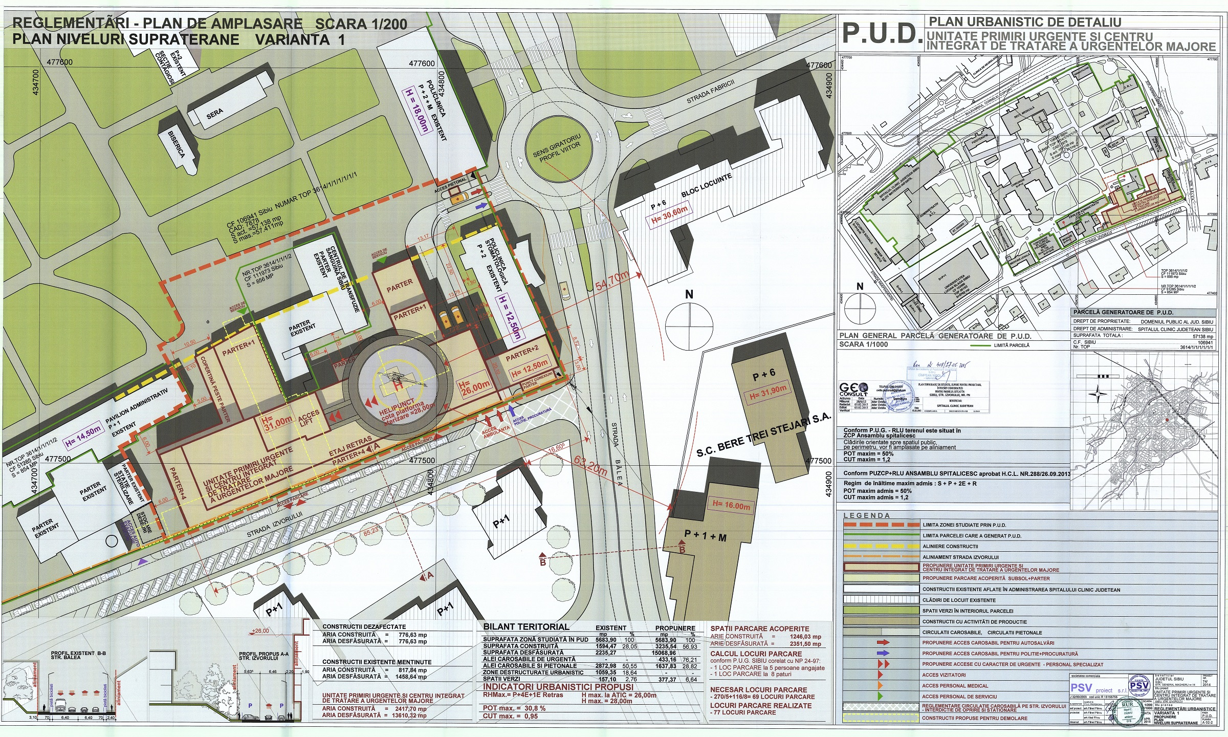 reglementari_urbanistice noul spital dimensiuni mari