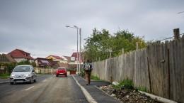 strada frunzei refacuta trotuar (Copy)