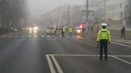 accident Calea Dumbravii trecere de pietoni politist