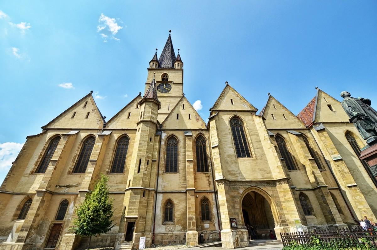 Sibiu Biserica evanghelica (7)