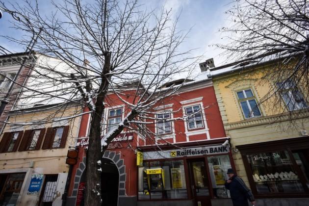 casa Iohannis balcescu iarna