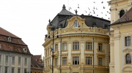 primarie Sibiul sta pe un mic munte de aur