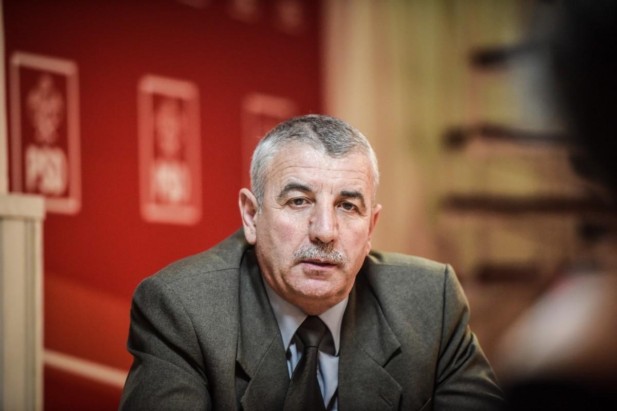 Emil Dârloșan, primarul Dumbrăveniului