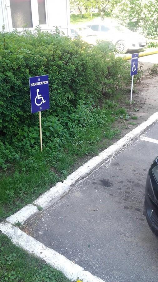 parcare handicapati spital