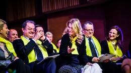 lansare candidati PNL Alina Gorghiu, blaga, cazan, turcan, Cimpean