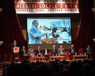 miting electoral PSD dragnea, Sorin Popa ,cindrea, Mihai Macavei, arcas, Ovidiu Sitterli, Gheorghe Frăticiu, Maria Greavu
