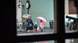 ploaie, ploi umbrela