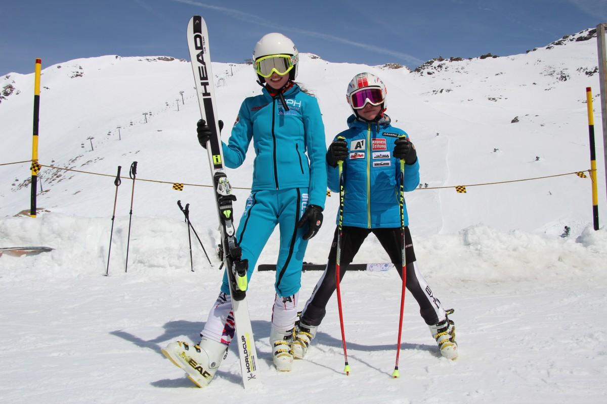 Târșia Maria și Târșia Ana - Pregătire specifică Austria, Molltaler Gletcher (Aprilie 2015) (2)