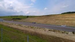 coloana autostrada inchisa