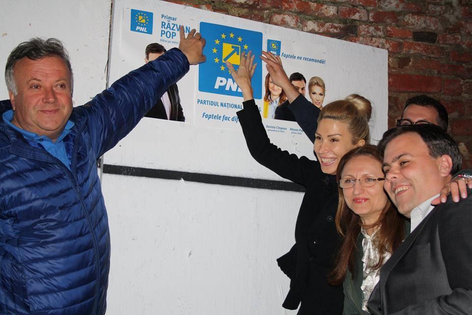 pnl campanie turcan pop sovaiala panou electoral cimpean