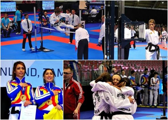 poza print taekwondo