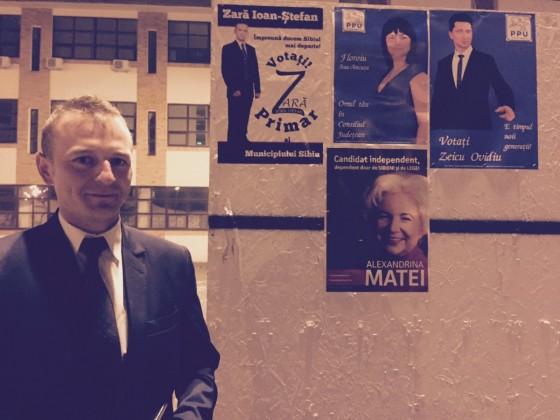 zara panou electoral afise