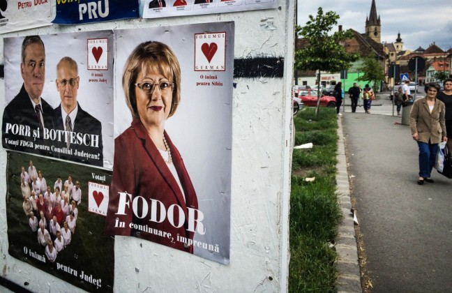 alegeri afise electorale Astrid Fodor FDGR
