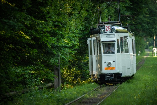 Tramvaiul Sibiu-Rasinari revine pe sine