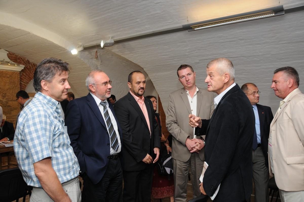 Ioan Tușinean. Mircea Bulboacă, Ioan Ciolan, Vladimir Grigoriv și Sorin Oprescu