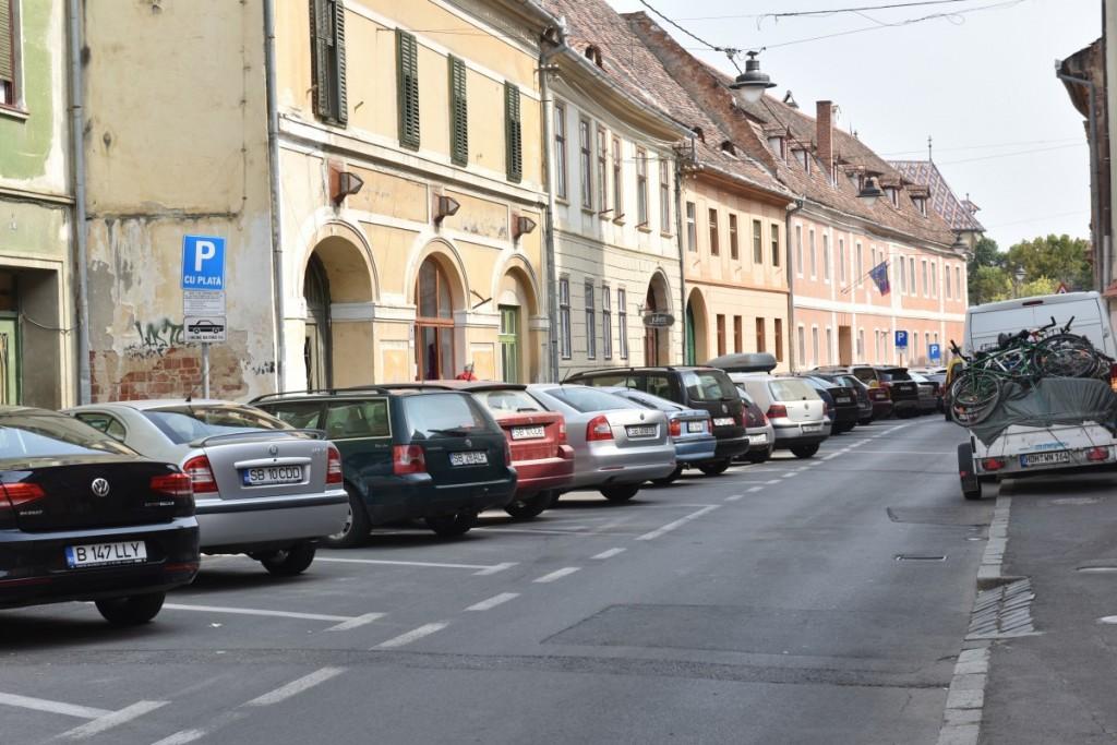 Nu gasiți loc parcare in Sibiu