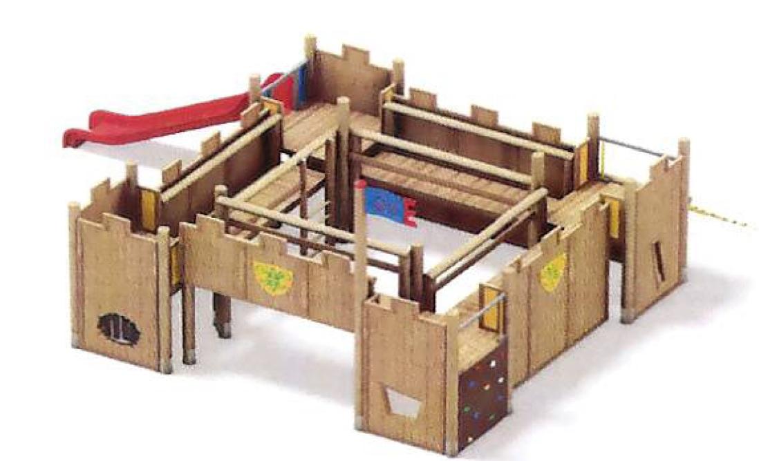 echipament cetate medievala inchisa