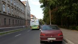 strada victoriei autobuz electric