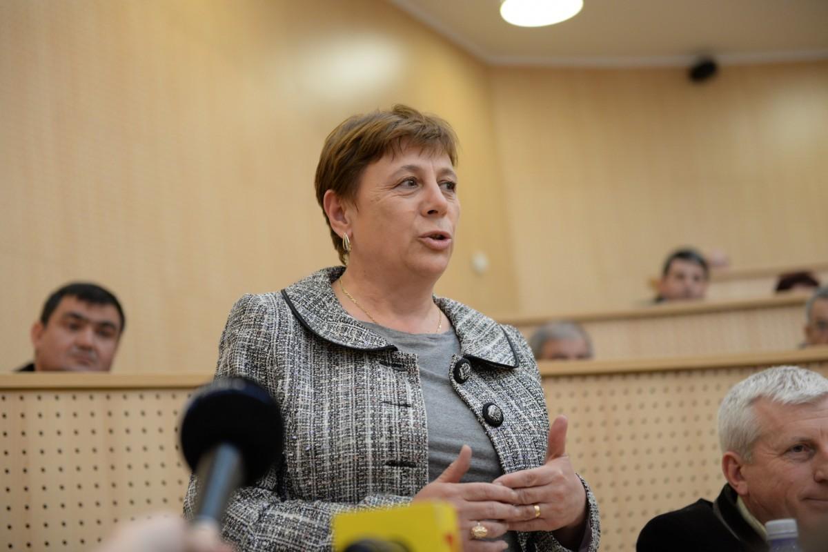 Maria Greavu, primar comuna Loamneș