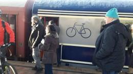 tren biciclete