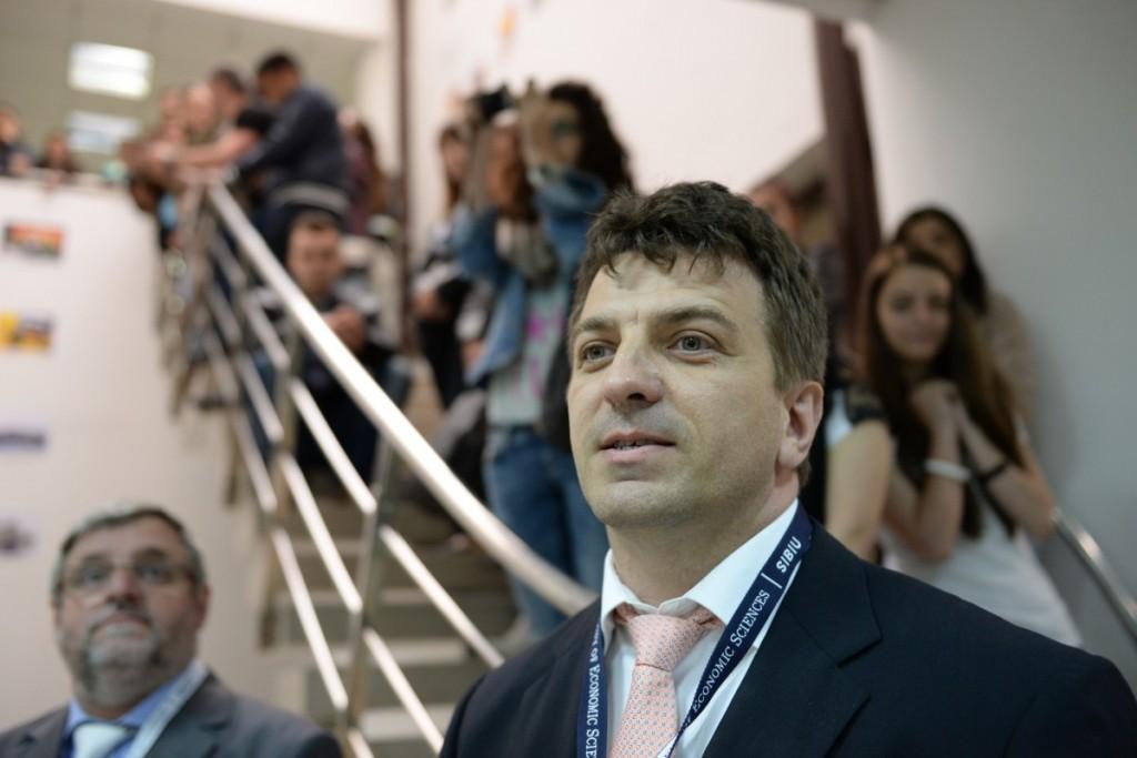 ulbs-saptamana-economica-facultatea-de-stiinte-Liviu Mihaescu
