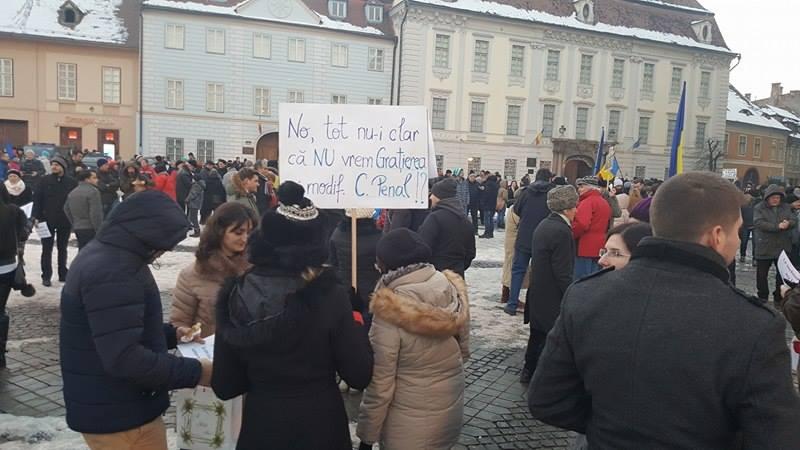 protest piata mare