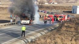 transmixt autobuz incendiu