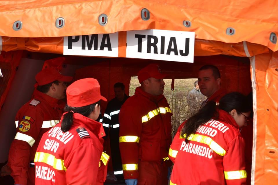 exercitiu ISU incendiu pompieri spital medias (3)