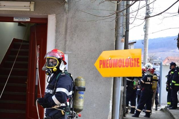 exercitiu ISU incendiu pompieri spital medias (6)