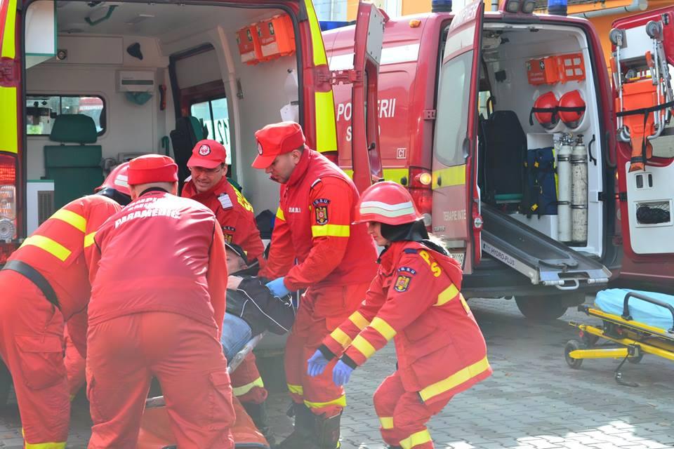 exercitiu ISU incendiu pompieri spital medias (7)