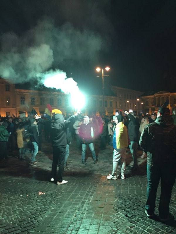 petarda proteste