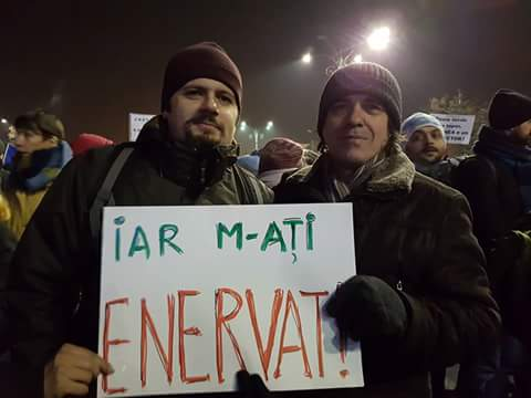 radu vancu protest