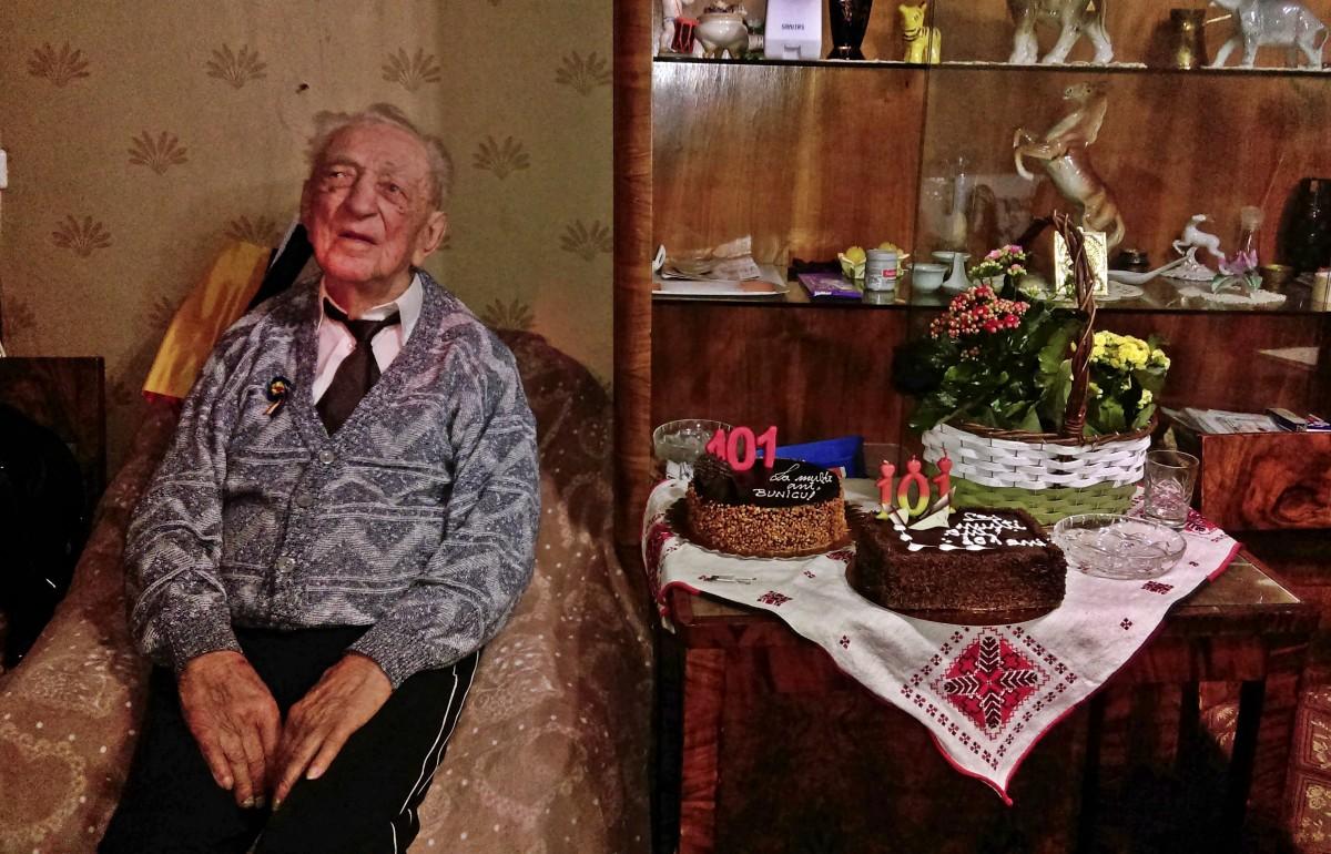 veteran ghibu 101 ani