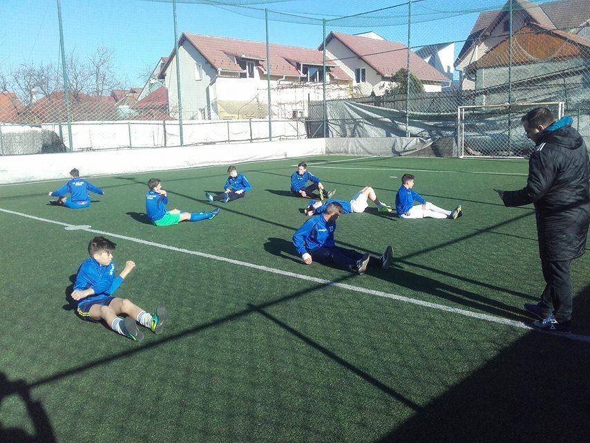 antrenament alma fotbal