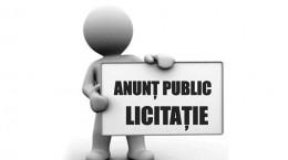 anunt licitatie
