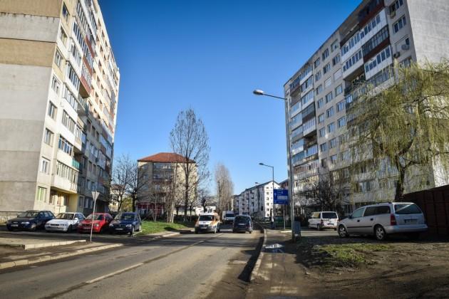 Calea Cisnădiei va intra în lucrări de lărgire din primăvară