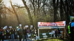 protest vanatori si pescari directia silvica (16)