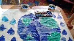 ziua apei desen pictura