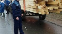 trasnpor ilegal lemne cherestea politie