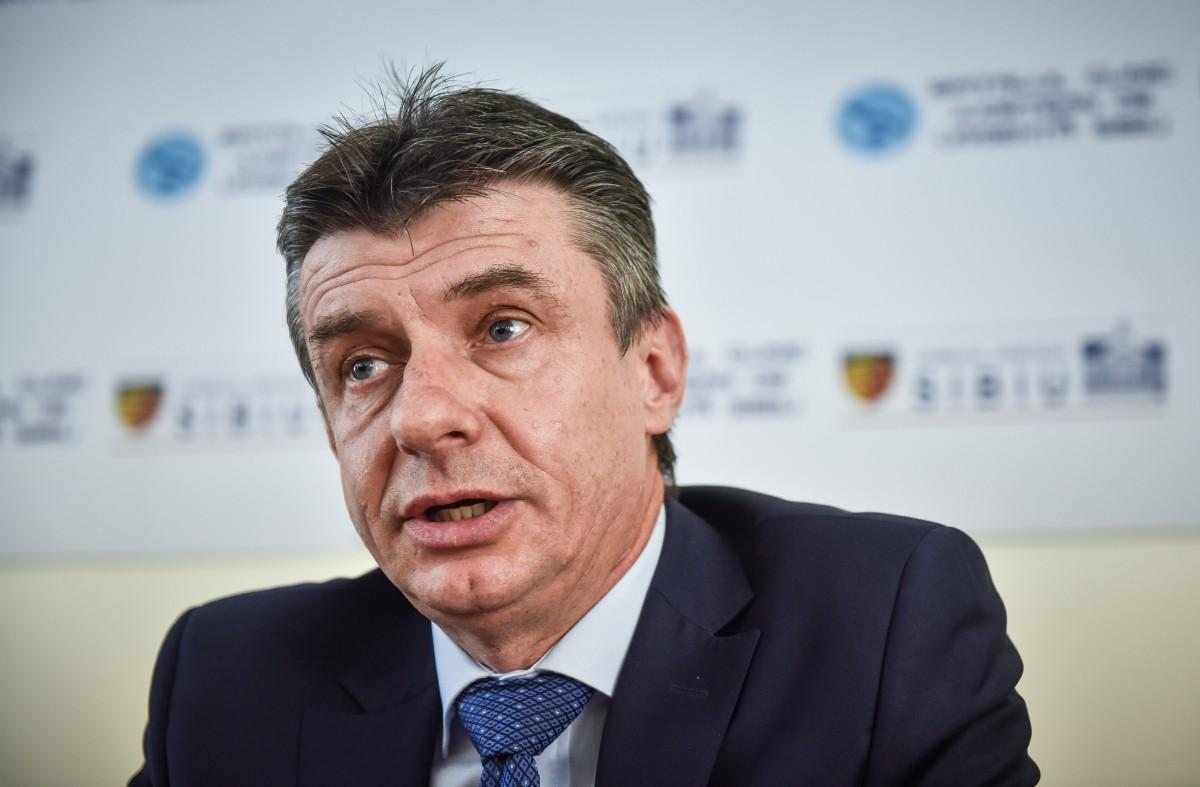 Cornel Benchea, managerul Spitalului județean Sibiu