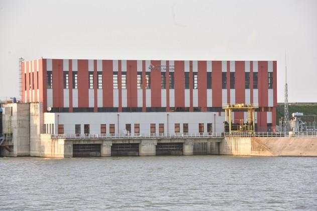 hidrocentrala CHE Racovita din aval 2